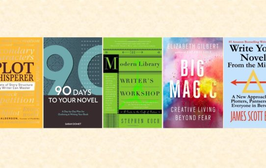 Five Books for First-Time Novelists